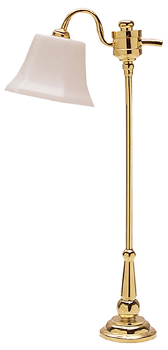 HW2568 - Brass Downbridge Floor Lamp