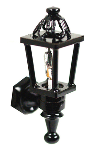 HWH2028 - 1/2 Scale: Black Coach Lamp