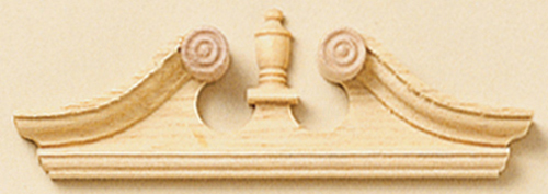 HW7072 - Deerfield Window Pediments, Pair
