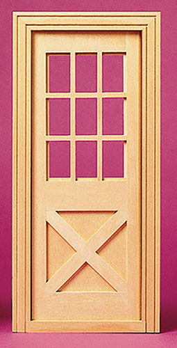HW96012 - Playscale: Crossbuck Ext Door
