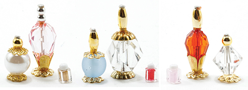 IM65036 - Perfume Bottles, 3Pk, Assorted