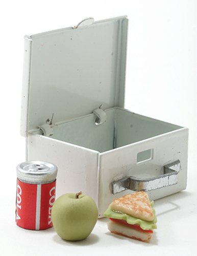 IM65101 - Lunch Box with Sandwich, Apple, and Drink, 4pc