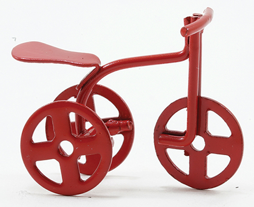 IM65151 - Red Tricycle, 1/2 Inch Scale