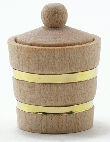 IM65310 - Wooden Bucket with Lid