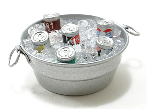IM65462 - Tub W/Ice And Canned Drinks