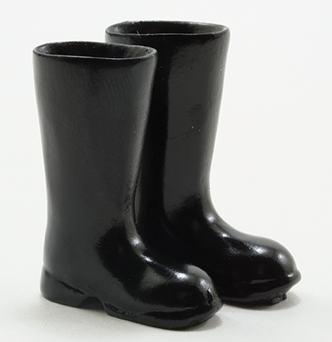 IM65602 - Black Rubber Boots