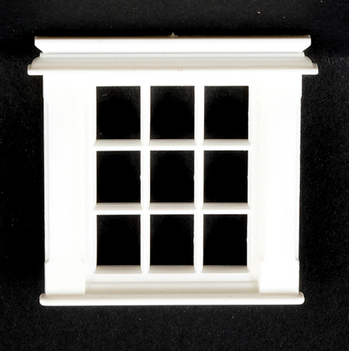 JML05 - Georgian Window, 9 Pane, 1/24th Scale