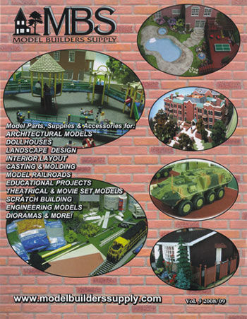 Model Builders Supply Catalog Vol 9, 2010