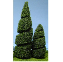 MBT124G - Tree Spiral 4In 2Pc