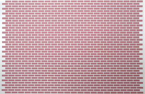 MH5320 - Pvc Brick Panel, Red 10-3/4 X 15 1/2