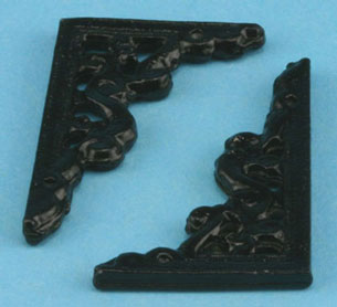 MUL101 - Bracket Large 2Pcs Black