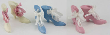 MUL3933B - Fancy High Button Shoes, Assorted Colors, 1 Pair