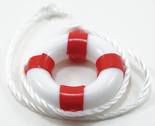 MUL4045R - 1In Life Preserver Ring Red