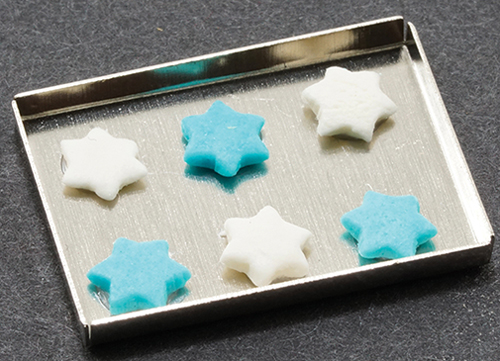 MUL5358G - Hanukkah Cookies On Baking Sheet