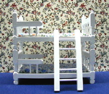 NCRB023 - White Bunk Bed