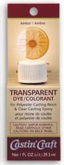 SMWR13 - 1 Oz Carded Transparent Dye - Amber