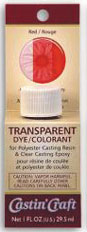 SMWR11 - 1 Oz Carded Transparent Dye - Red