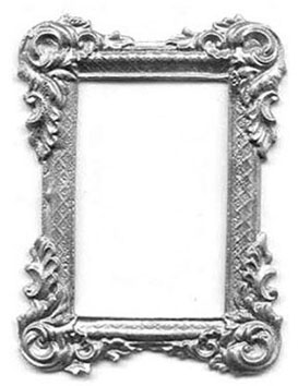 TIN1011 - Discontinued: Unpainted Victorian Rectangle Frame