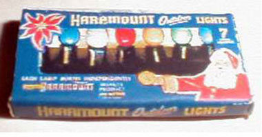 TIN1021 - Discontinued: 1937 Haramount Christmas Lights